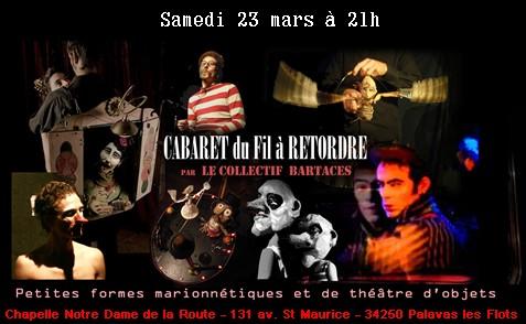 Grande soirée Cabaret  « Du fil à retordre »