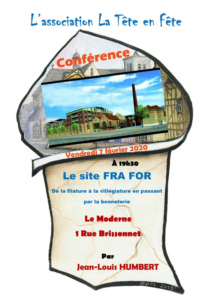 Troyes : Conférence - Le site FRA FOR