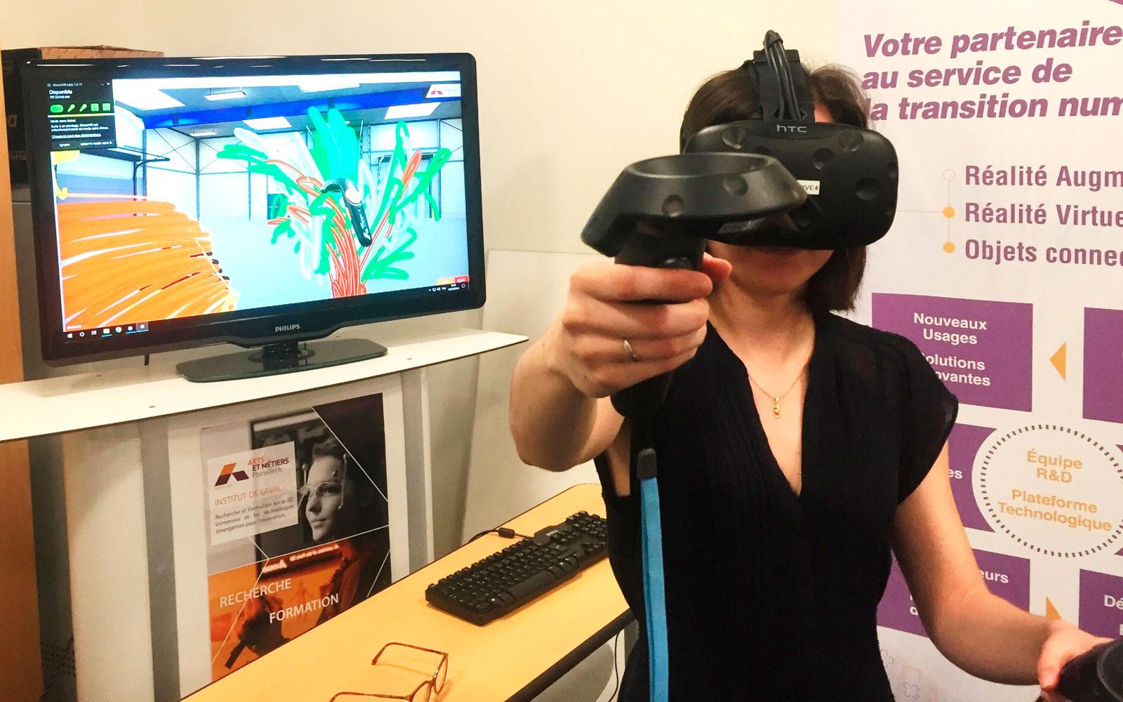 Dessiner en réalité virtuelle
