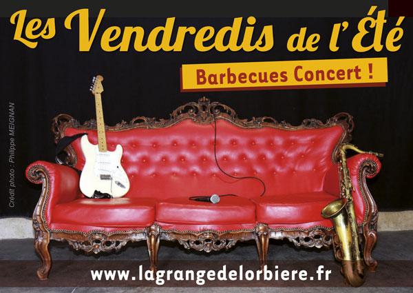 Les Vendredis de l'été : Mouv'n Brass + Bary 2 Sax   Brass Band + Fanfare Electro / Sax