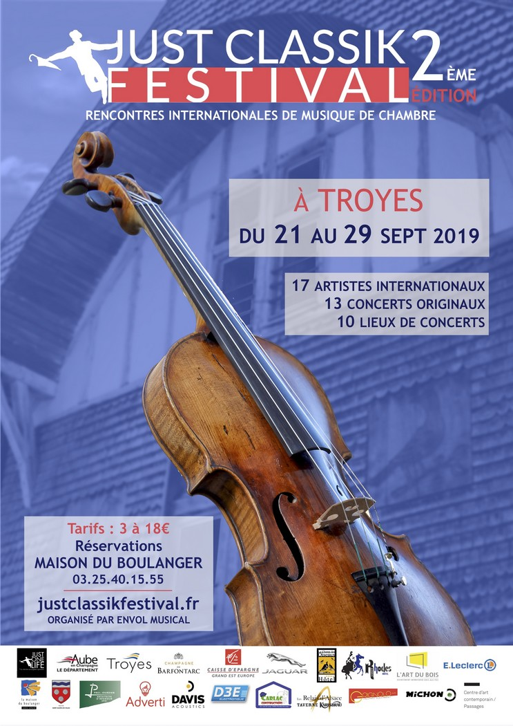 Troyes : Just Classik Festival - Grand Concert
