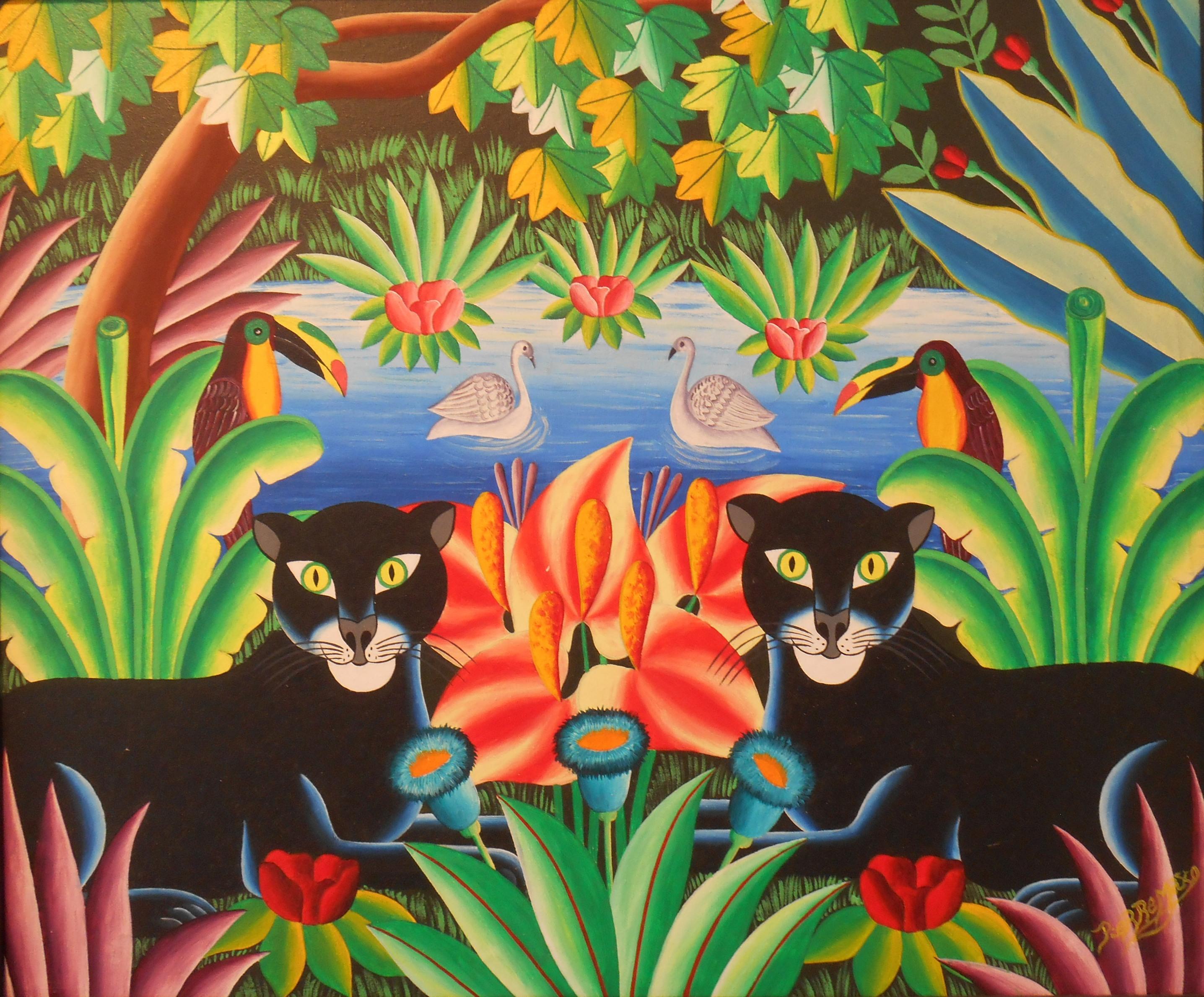 Exposition Peintures et Sculptures d'artiste Haïtiens
