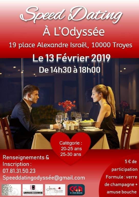 Speed dating 19 ans