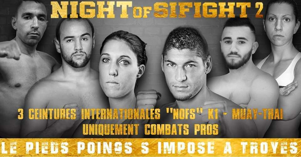 Troyes : Gala de boxe - Night of SiFight 2