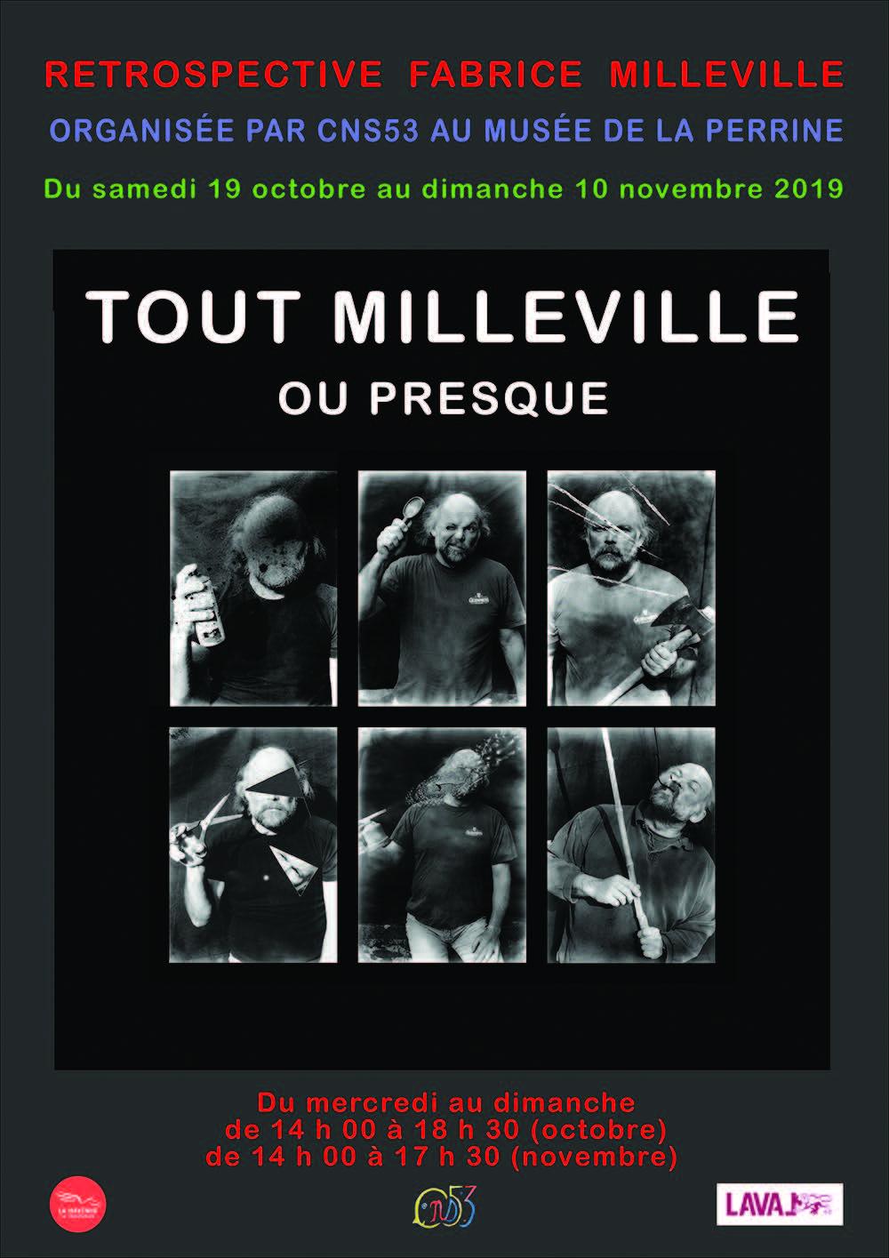 Exposition : Retrospective Fabrice Milleville