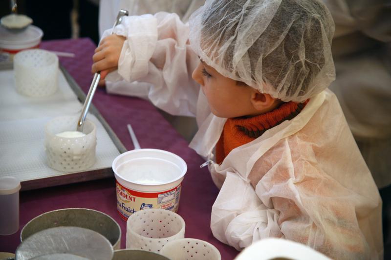 La Cité du lait : Apprenti fromagers