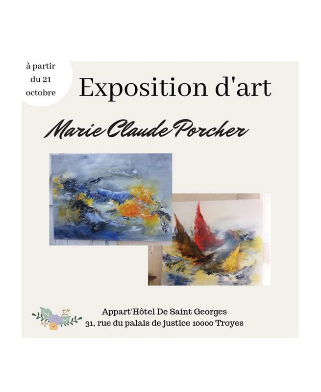 Troyes : Exposition d'art
