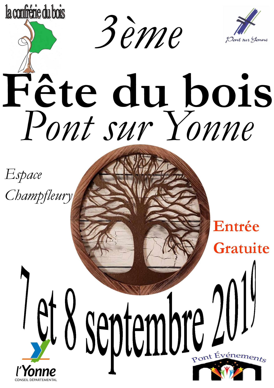 Fête du bois / Espace Champfleury - Pont-sur-Yonne | OT Sens