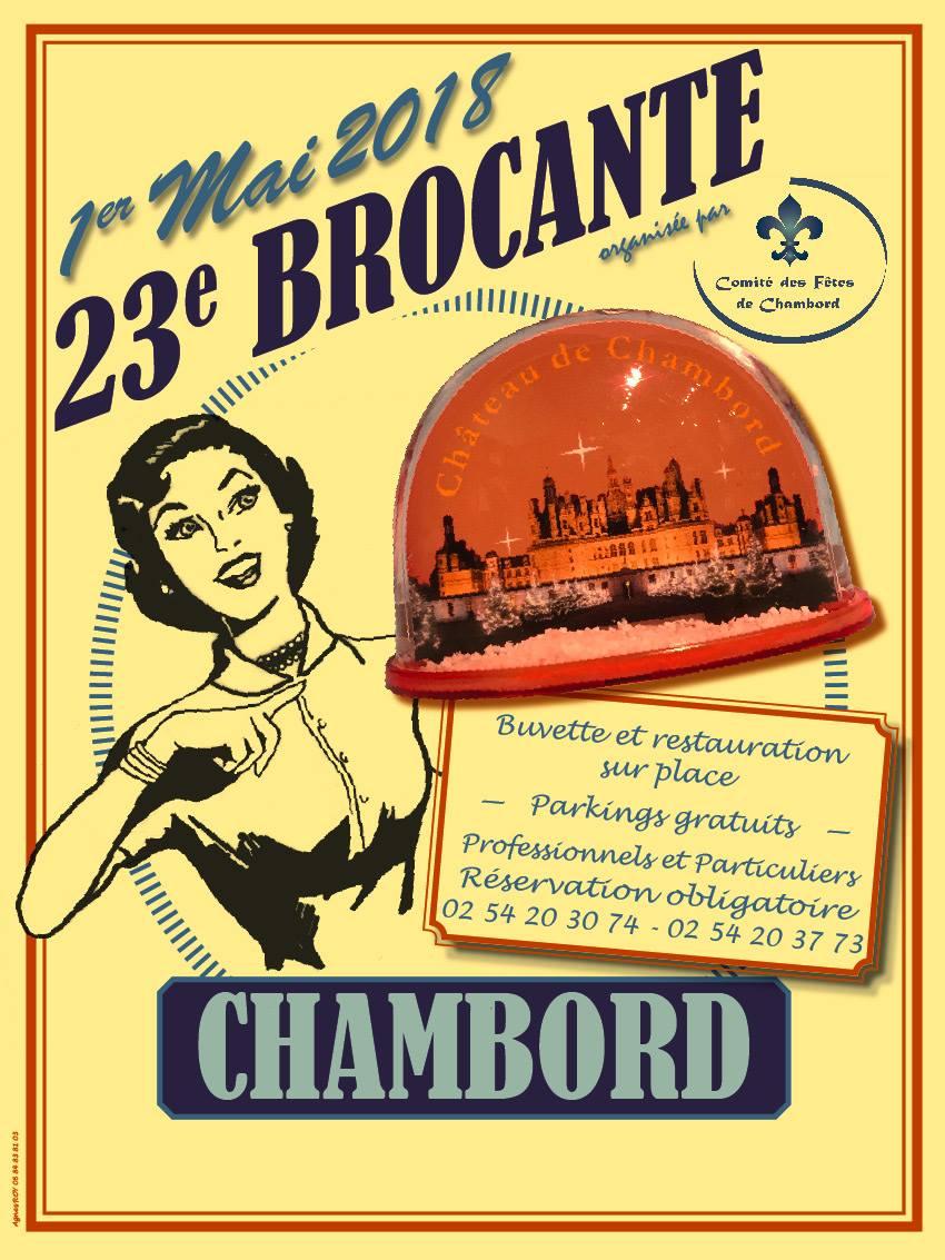 23 me brocante de chambord site officiel de l 39 office de for Meuble brocante
