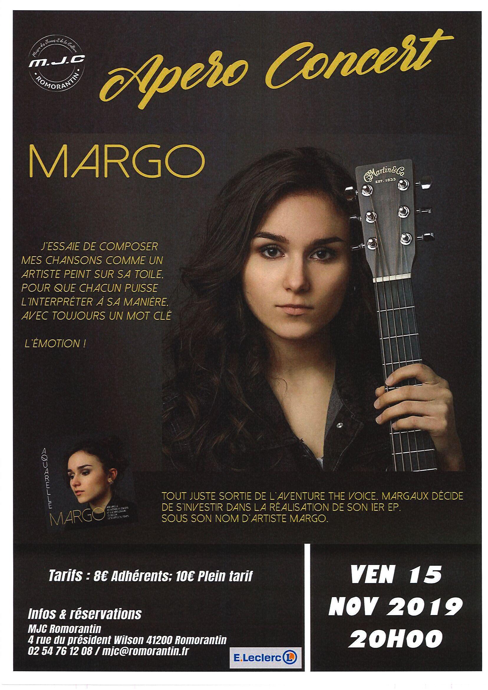 Apéro-Concert | Margo