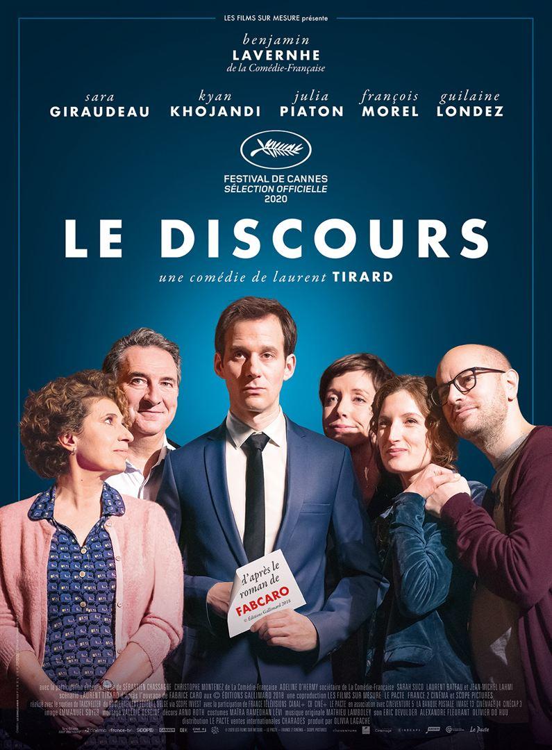 """Cinéma  """"Le discours"""""""
