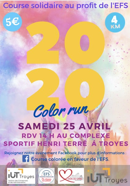 Troyes : Color Run