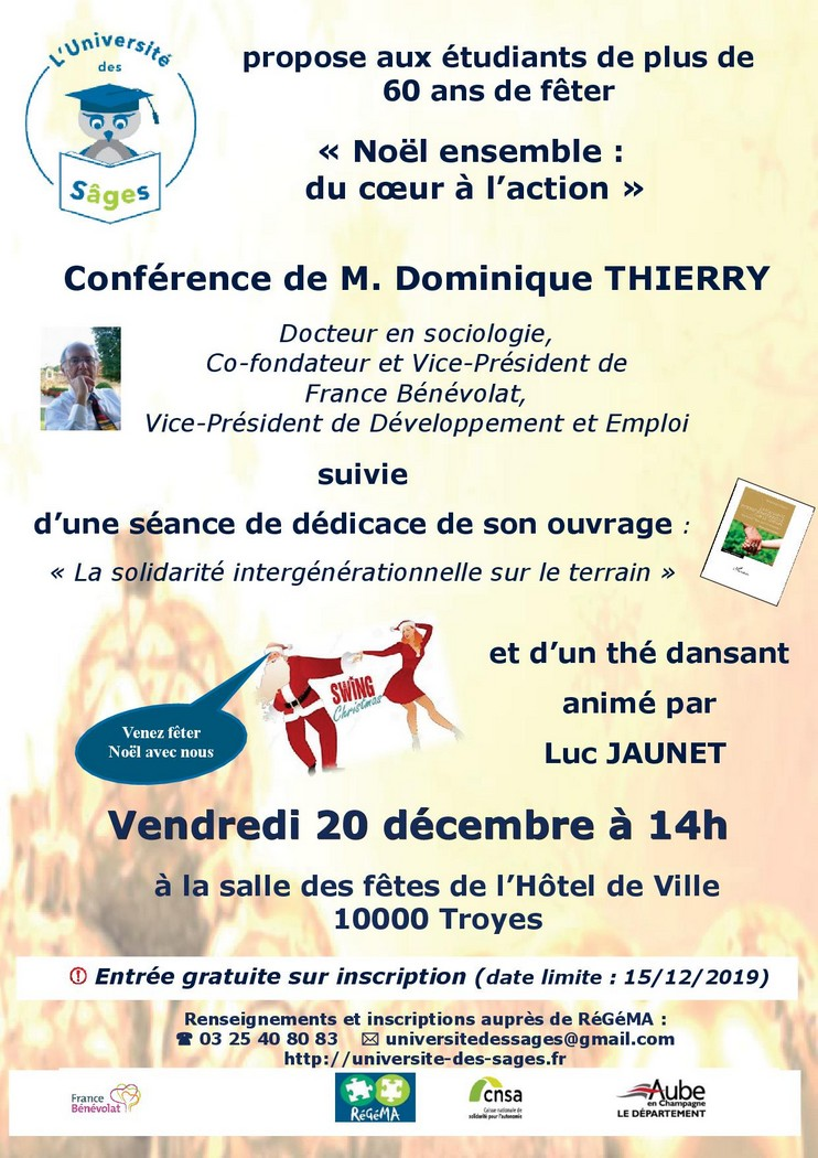 Troyes : Conférence -