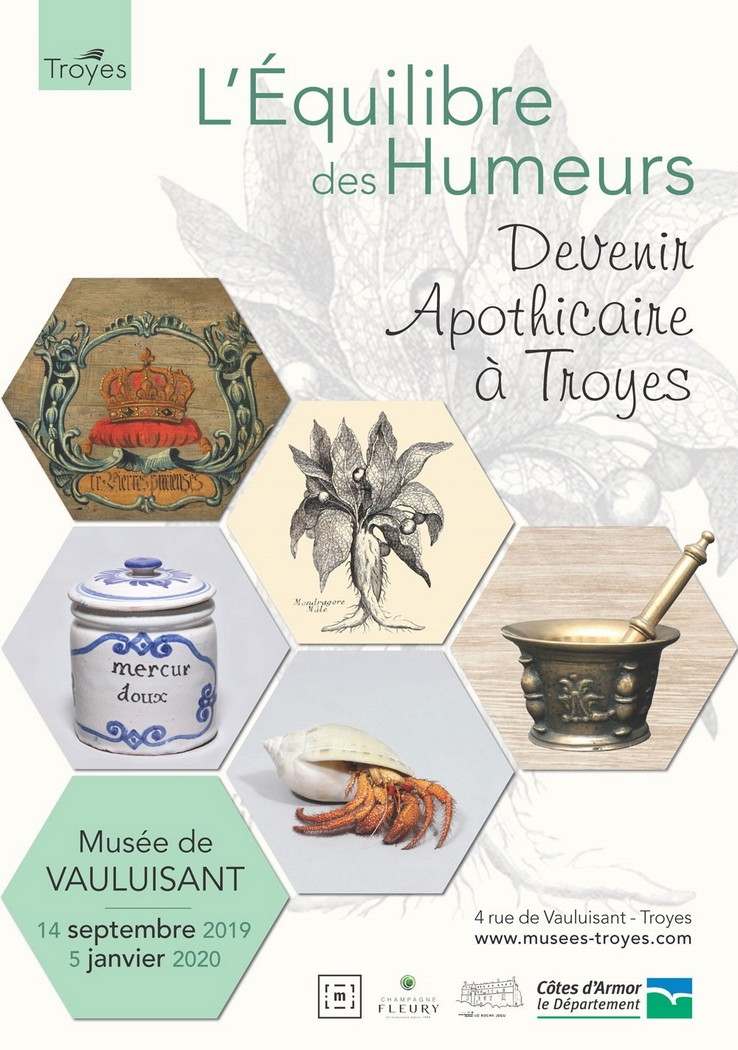 Troyes : Visite-atelier « Deviens apothicaire »