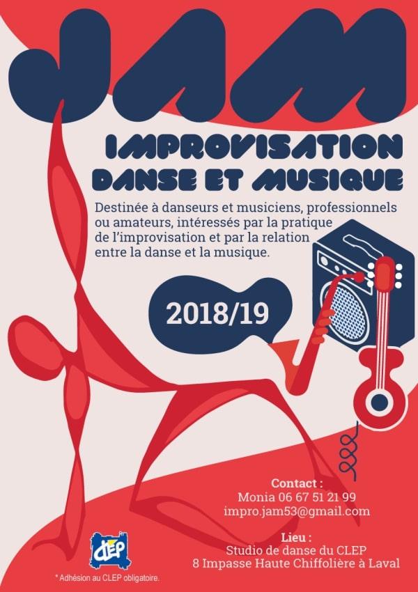 JAM ! Improvisation Danse et Musique