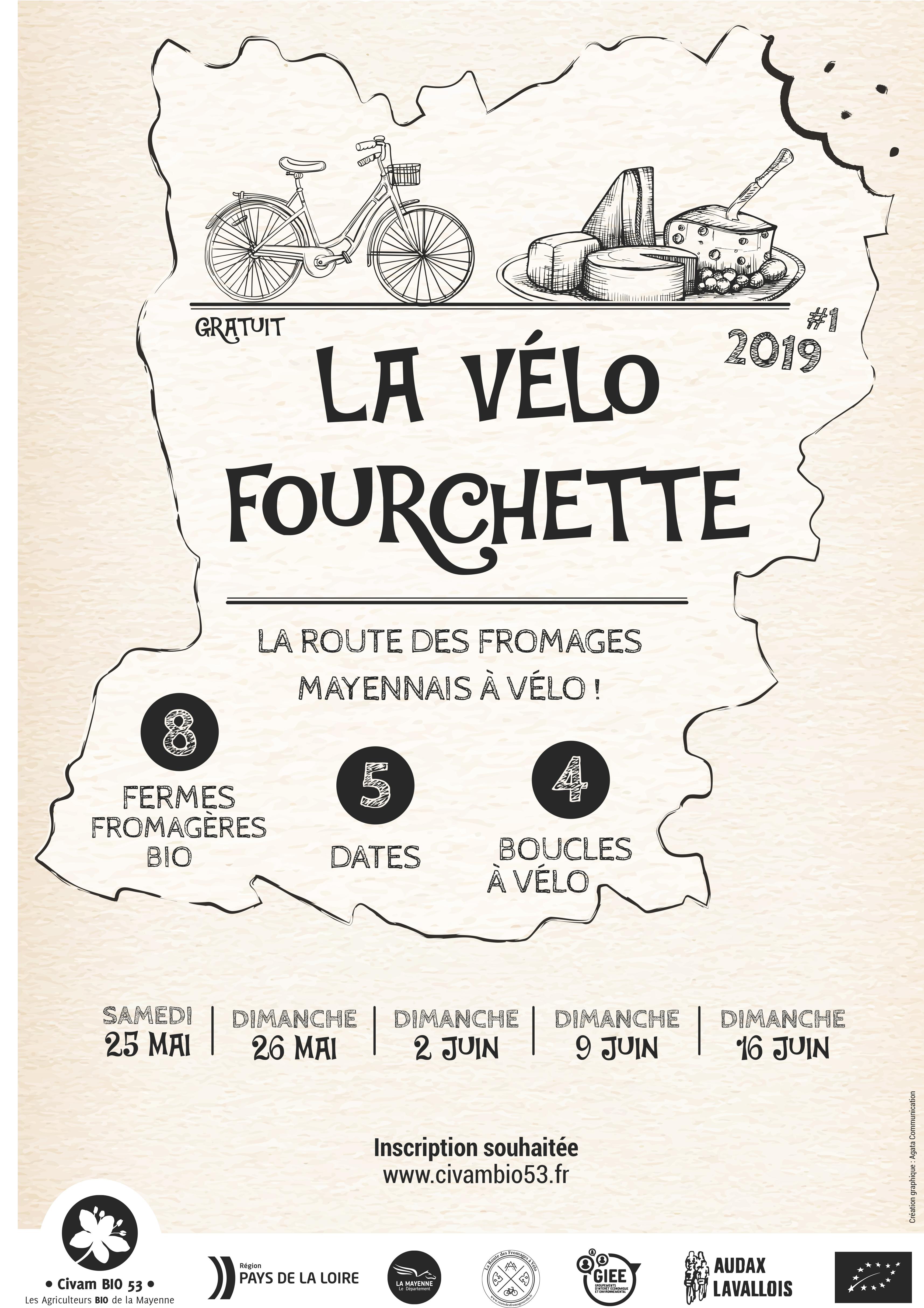 La Vélo Fourchette : Portes Ouvertes Fromagerie d'Entrammes