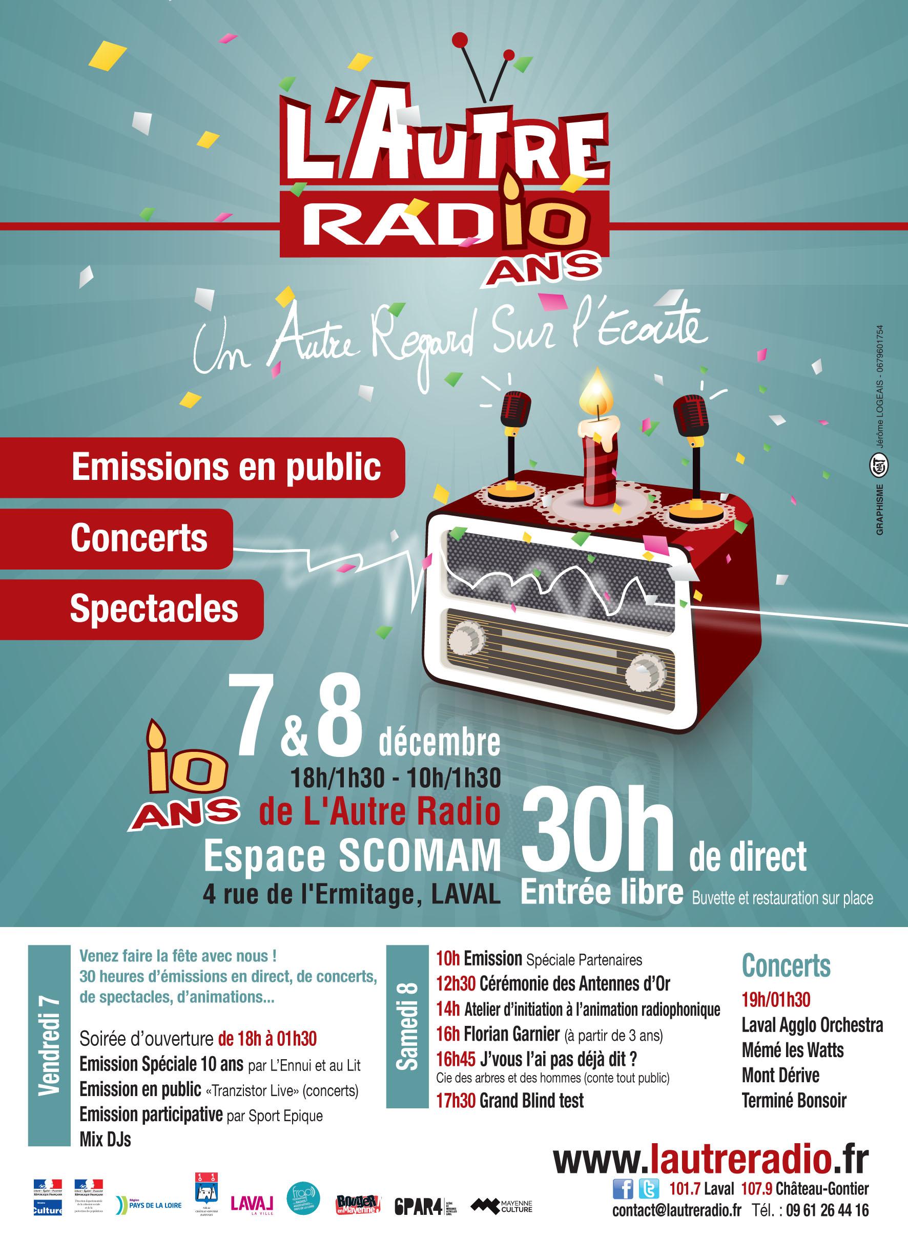 L'Autre Radio fête ses 10 ans !