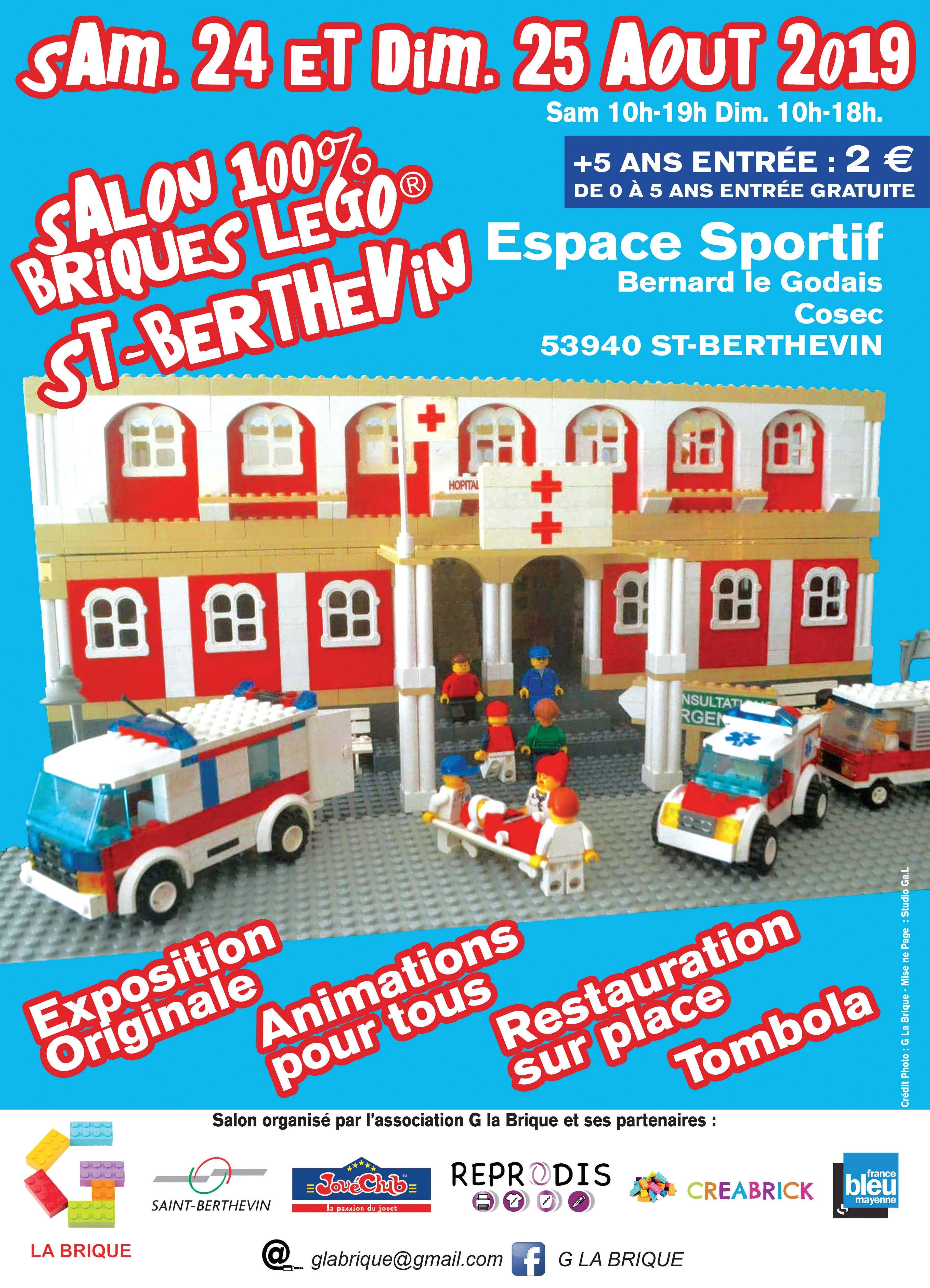 Salon 100% Briques Lego®
