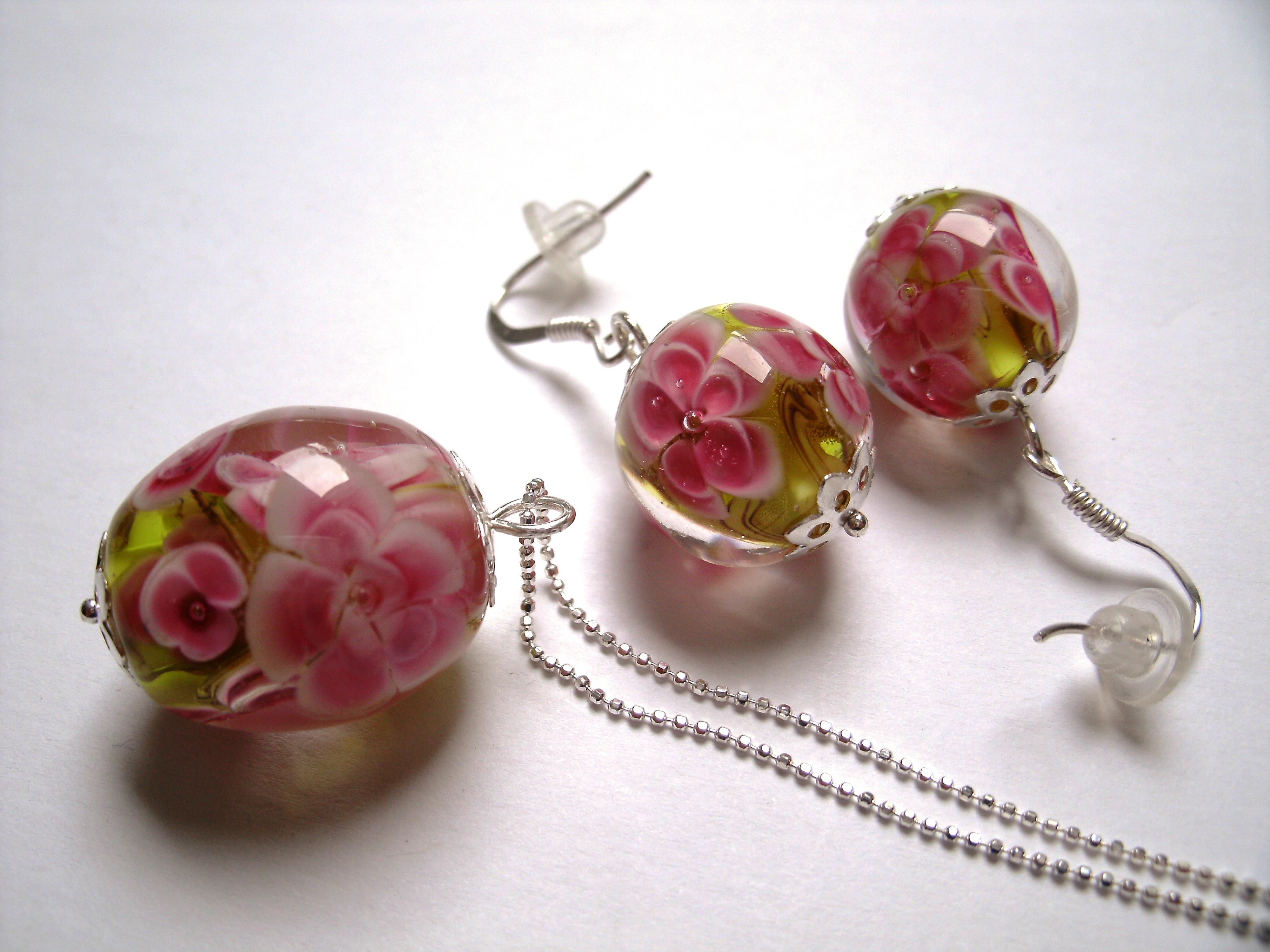 Bijoux Claramints, atelier de filage de verre