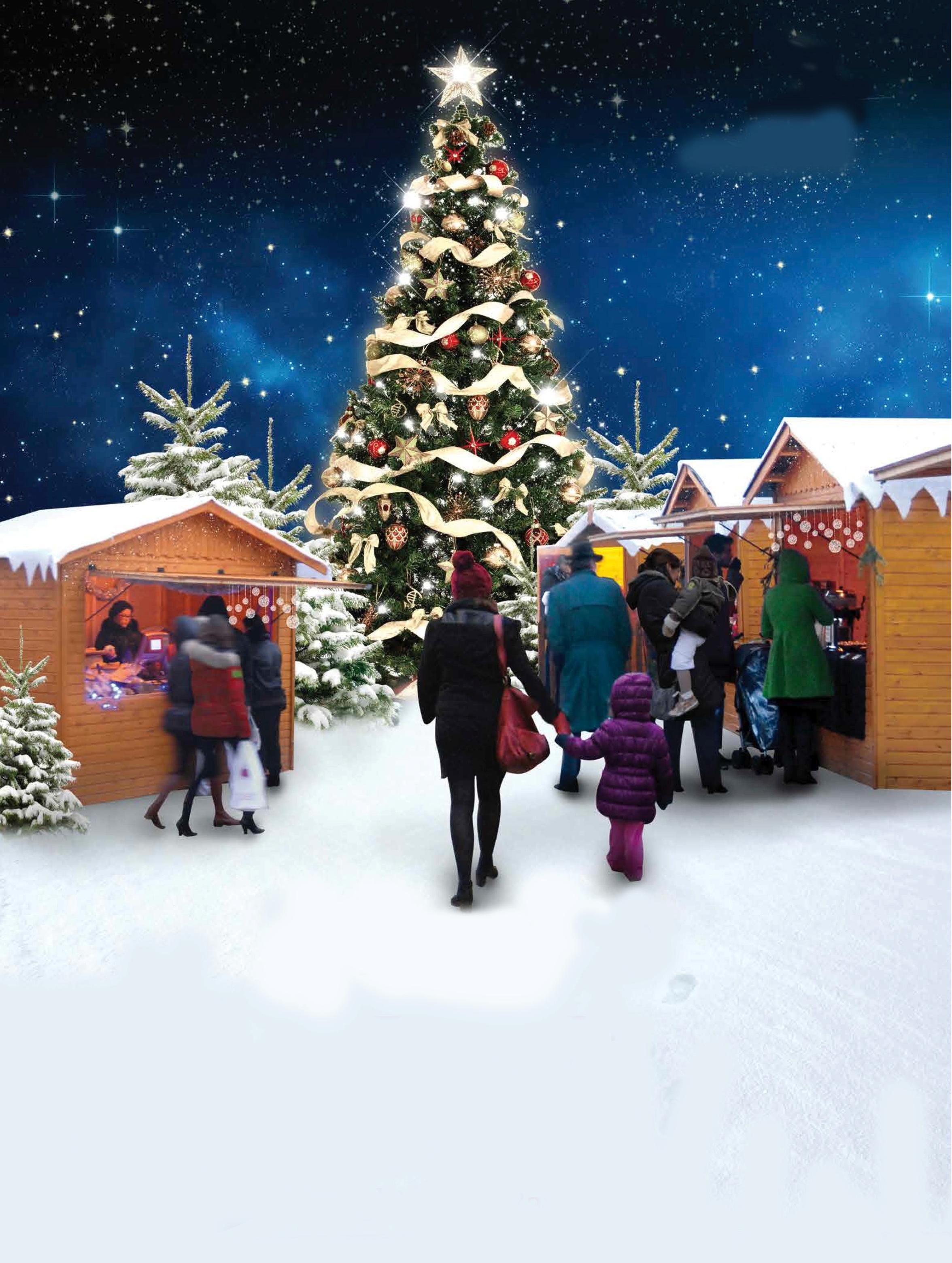 Marché de Noël à Saint-Berthevin