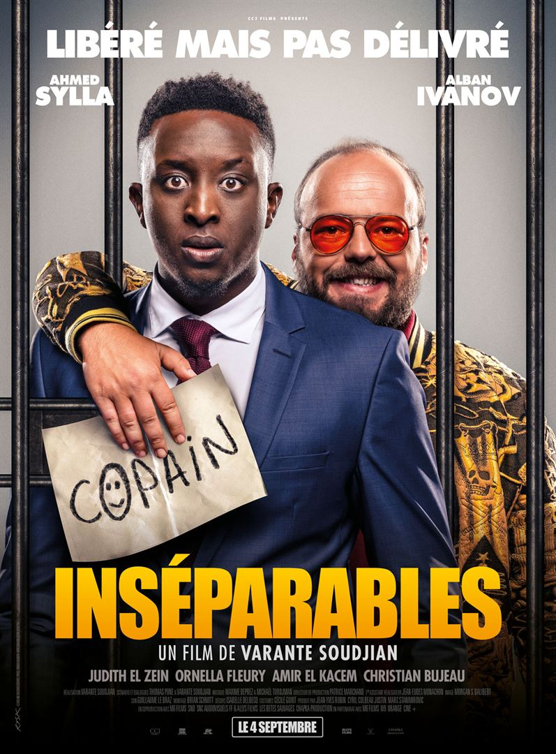 """Cinéma  """"Inséparables"""""""