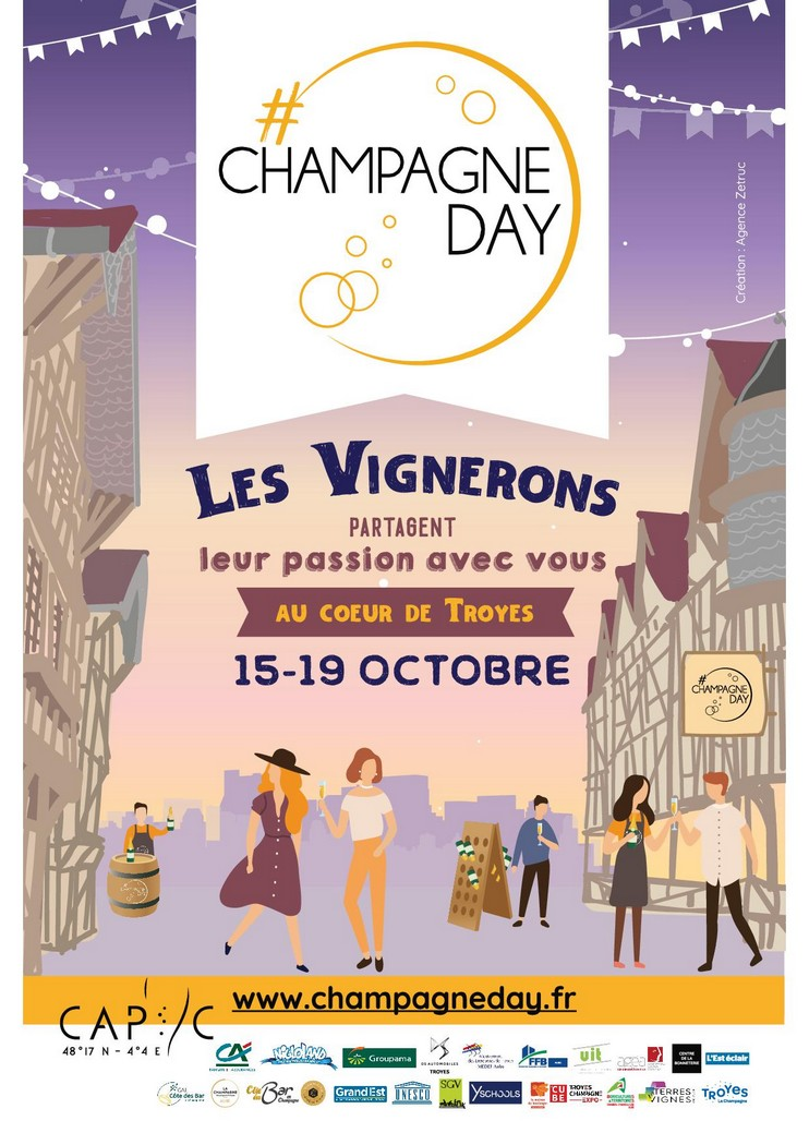 Troyes : Champagne Day