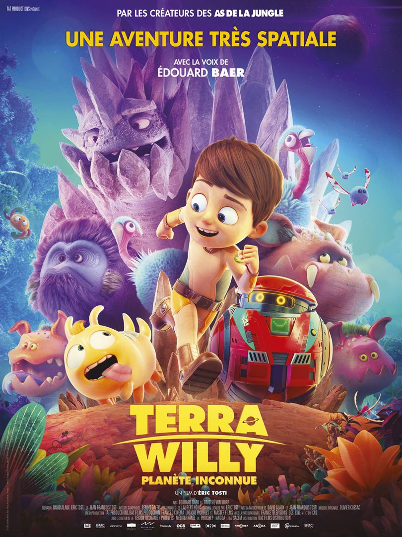 """Cinéma  """"Terra Willy - planète inconnue"""""""