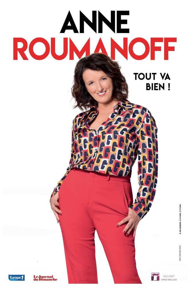 Troyes : Anne Roumanoff