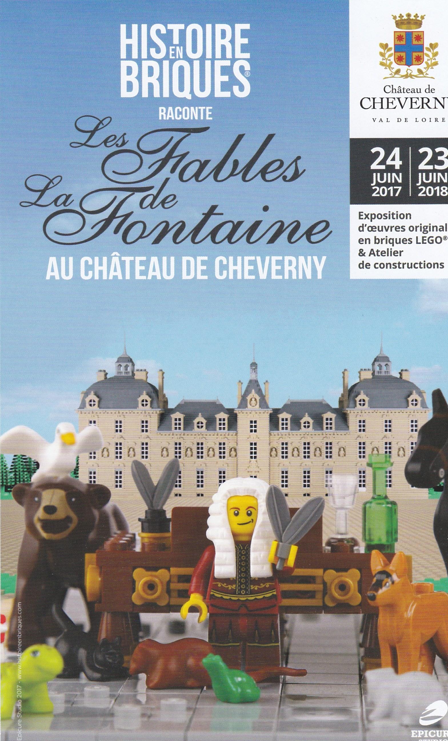 exposition histoires en briques lego raconte les fables. Black Bedroom Furniture Sets. Home Design Ideas