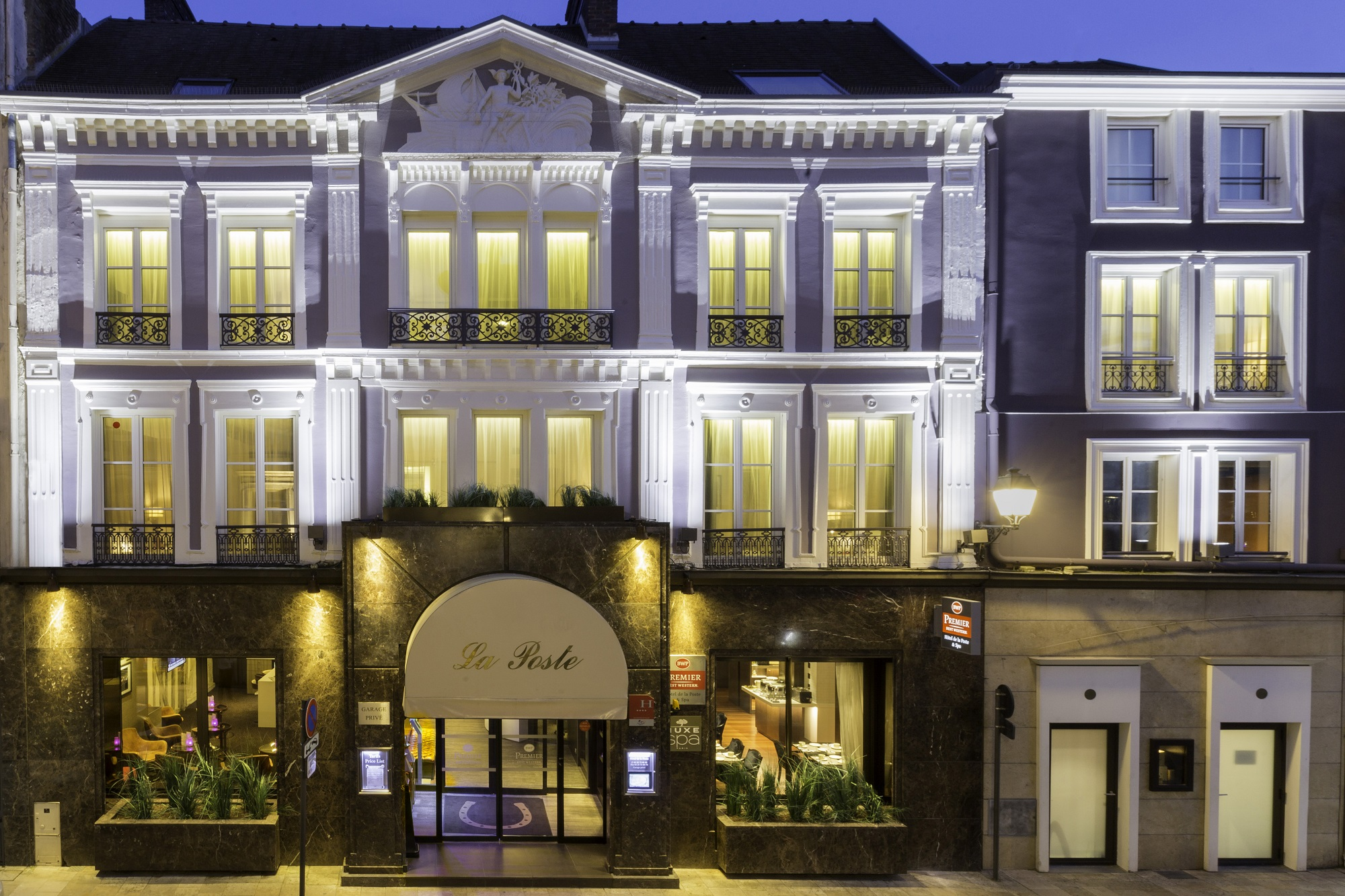 Best Western Premier Hotel De La Poste Spa A Troyes Congres