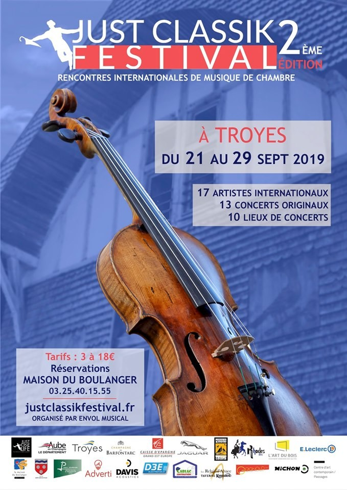 Troyes : Just Classik Festival - Schubertiade