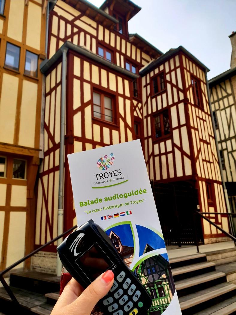 Troyes : Balade Audioguidée