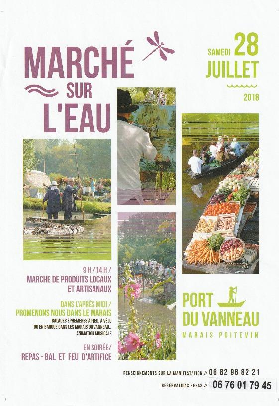 Marché Sur Leau Tourisme DeuxSèvres Vivez Vos Vacances En Deux - Chambre d agriculture des deux sevres