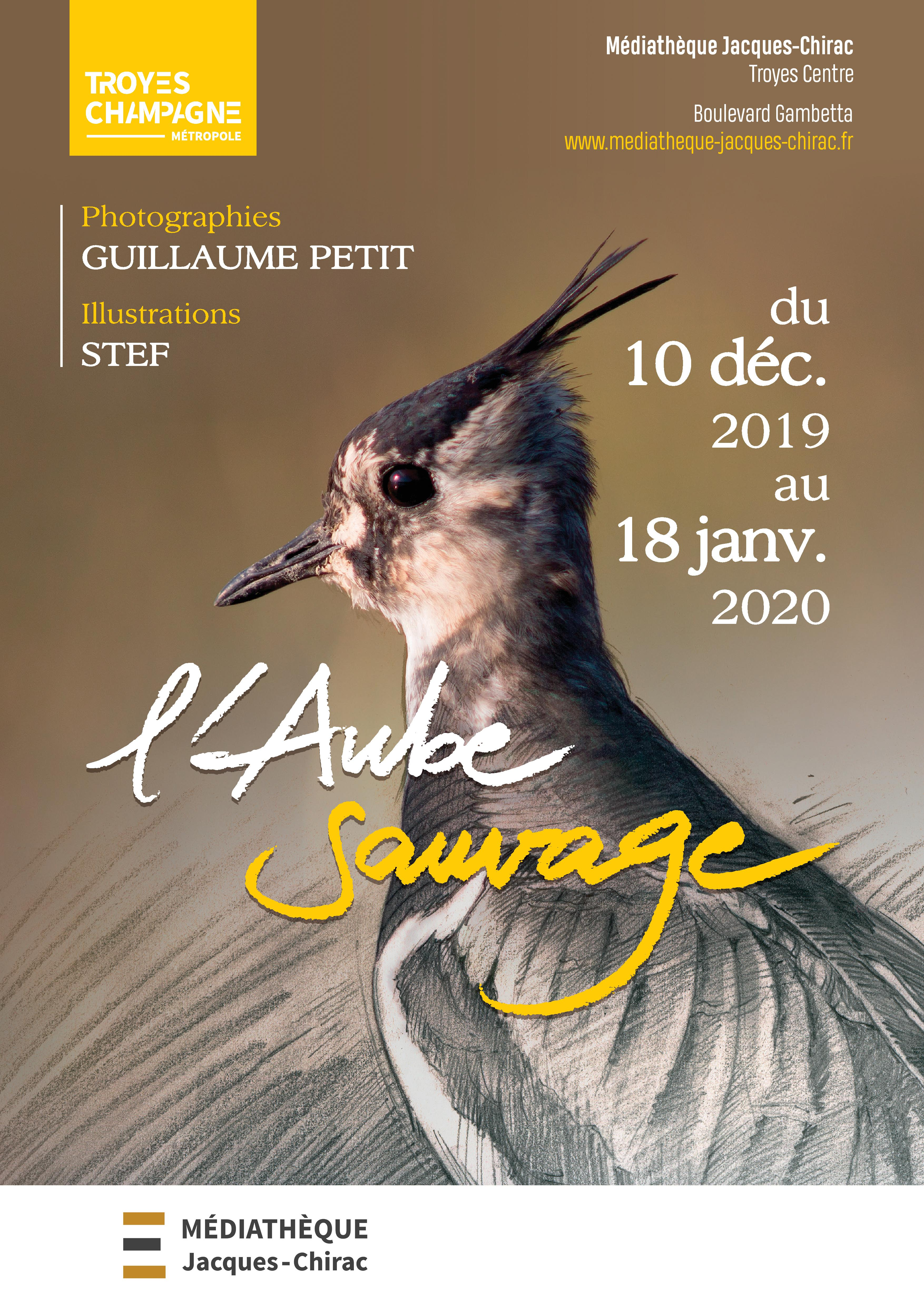 Troyes : Vernissage exposition « L'Aube sauvage »