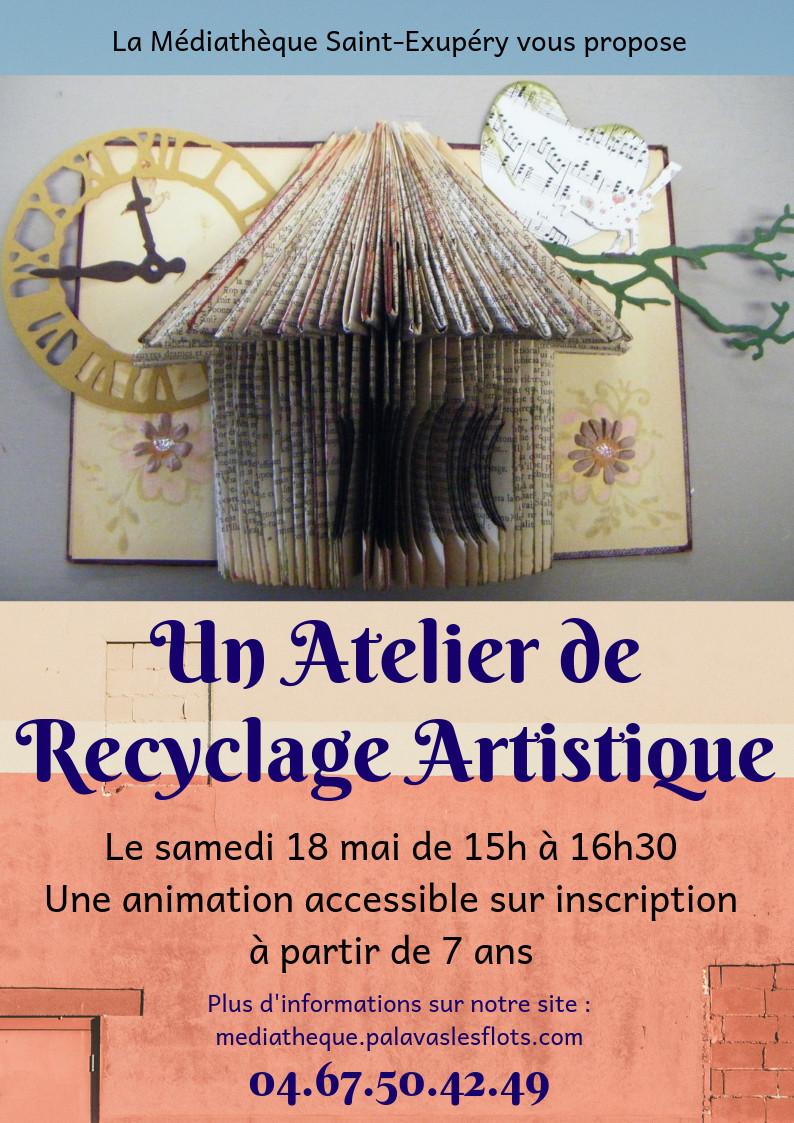 Atelier de recyclage artistique