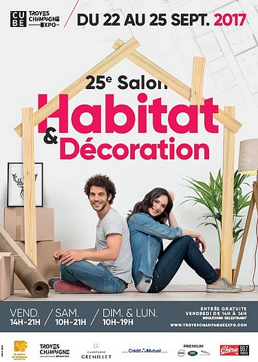 25 me salon habitat d coration troyes troyes for Decoration habitat